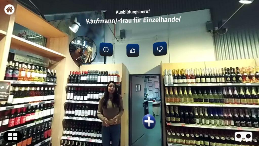 Asubildungsberuf Kauffrau/mann in Virtual Reality