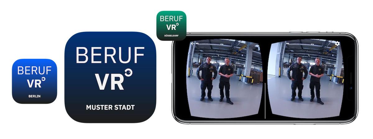 Die Beruf VR App