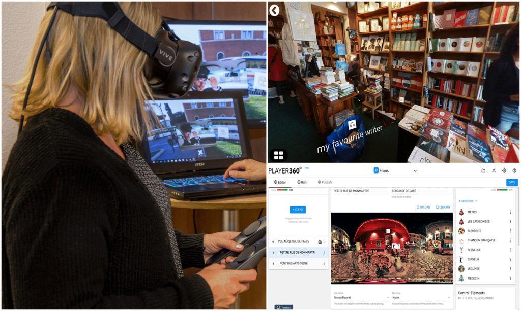 Language Institute Regina Coeli setzt mobfish VR STUDIO für immersives Sprachenlernen ein.