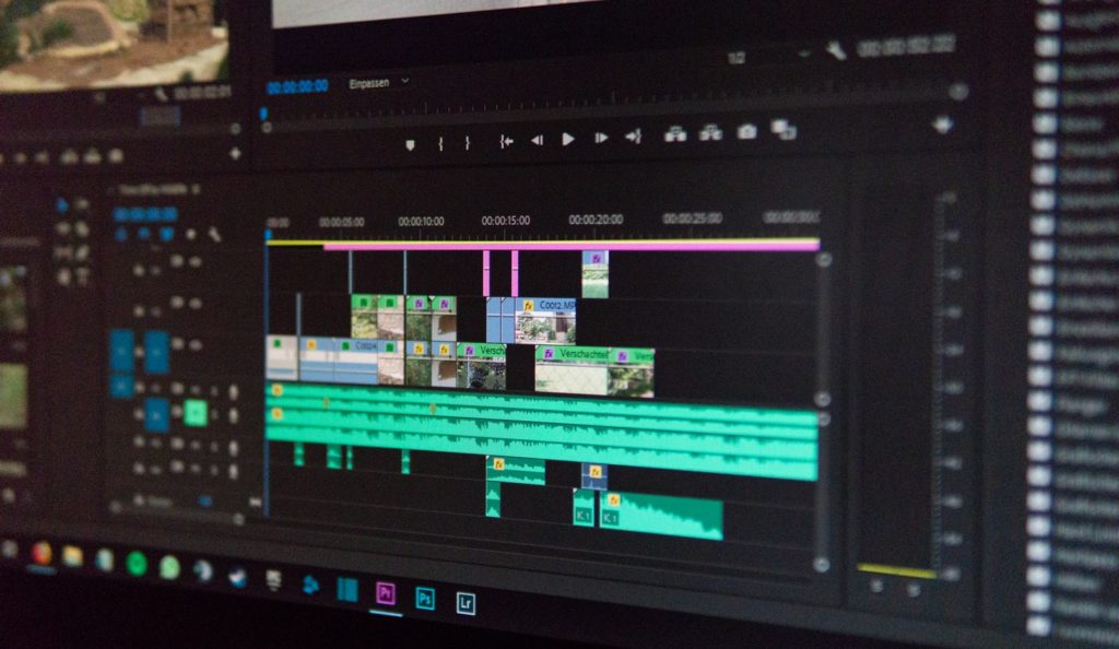 Video editing program