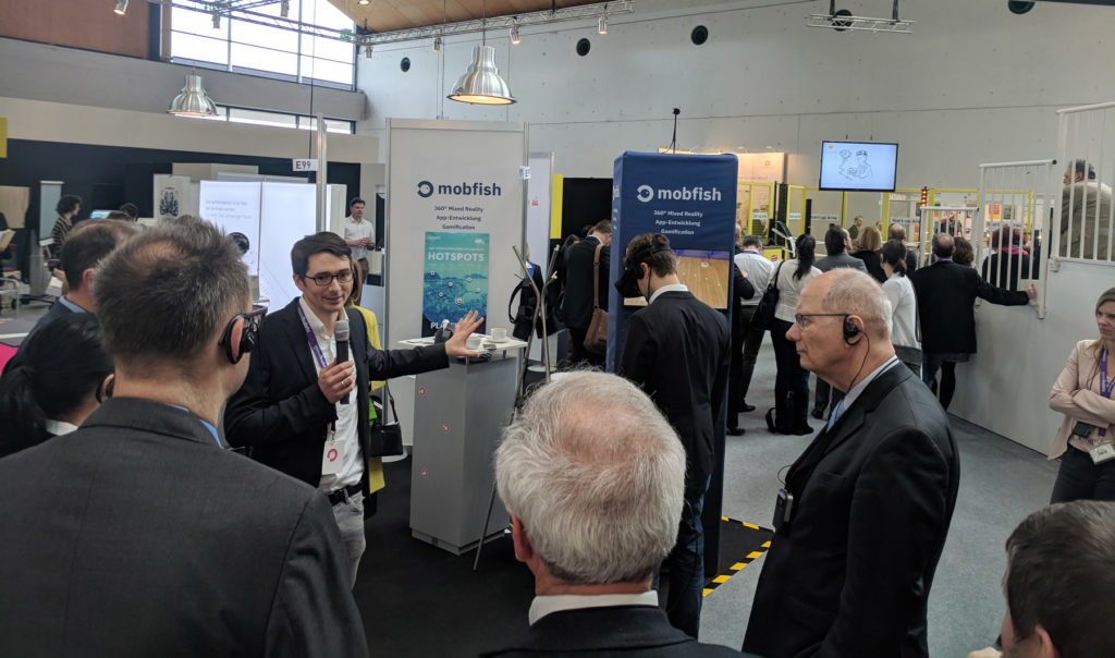 mobfish at the Learntec trade fair 2019