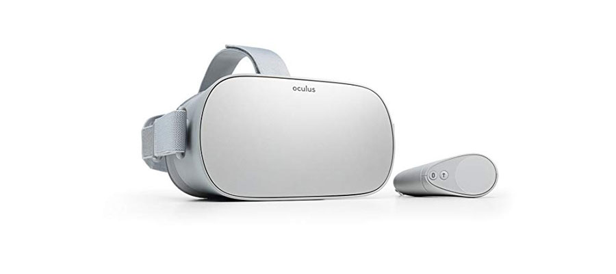 Image of Oculus Go VR glasses